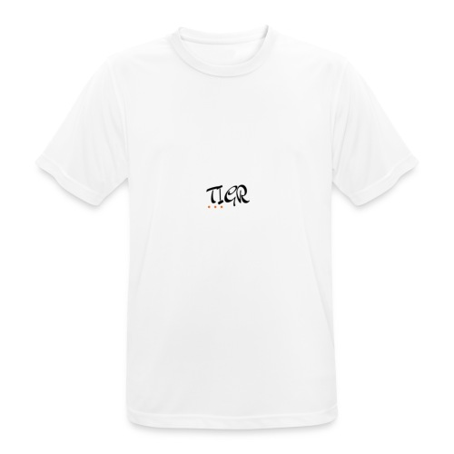 TIGR WORD LOGO - Men's Breathable T-Shirt