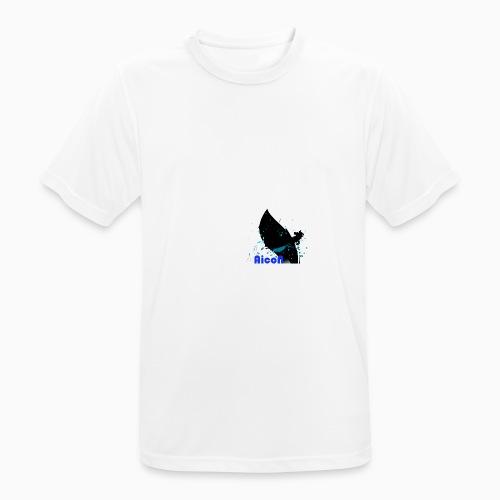 AicoN logo - Pustende T-skjorte for menn