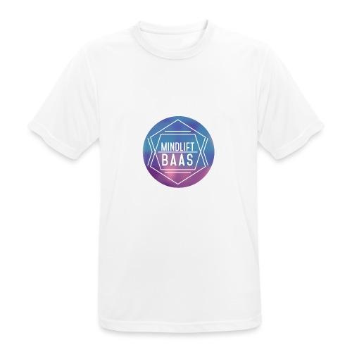 MindLift BAAS - Mannen T-shirt ademend actief