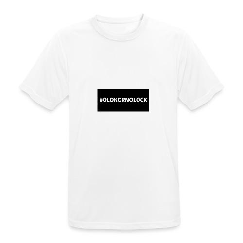 #OLOKORNOLOCK - Andningsaktiv T-shirt herr