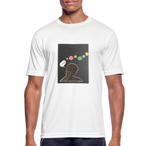 I denk wos i denk - Männer T-Shirt atmungsaktiv