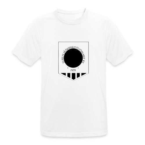 Tujen vaakunalogo - miesten tekninen t-paita