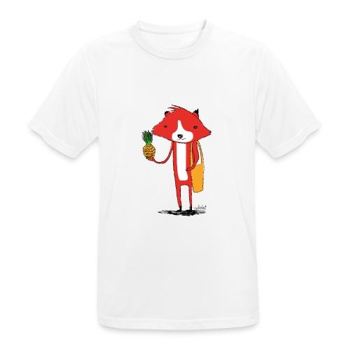 Ananasfüchslein - Männer T-Shirt atmungsaktiv
