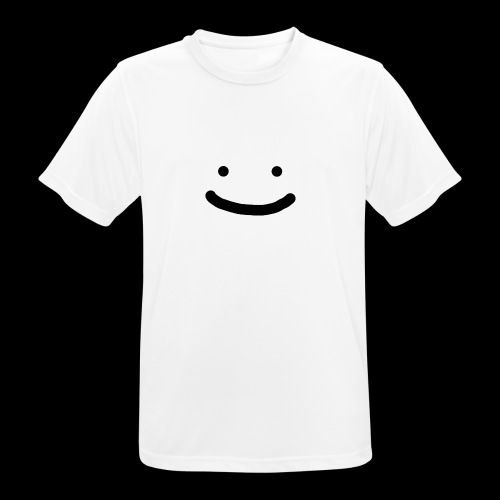 Smile - Koszulka męska oddychająca