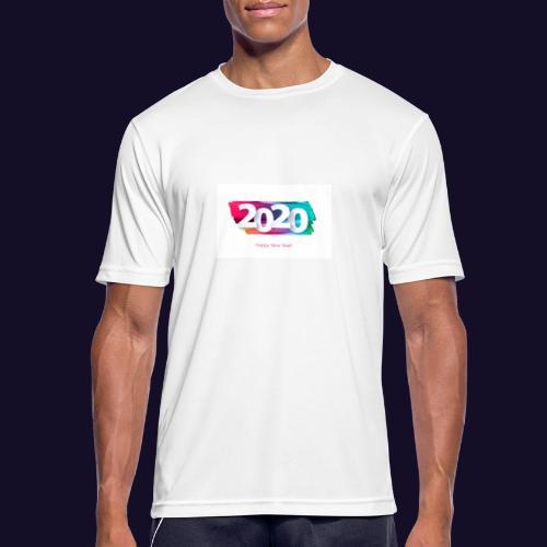 Happy new year 2020 - Männer T-Shirt atmungsaktiv
