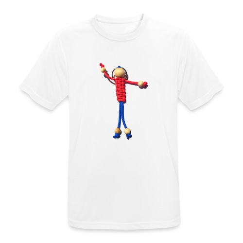 Knotenmann - Männer T-Shirt atmungsaktiv