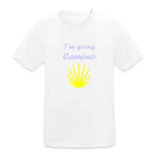 Going Camino - Herre T-shirt svedtransporterende