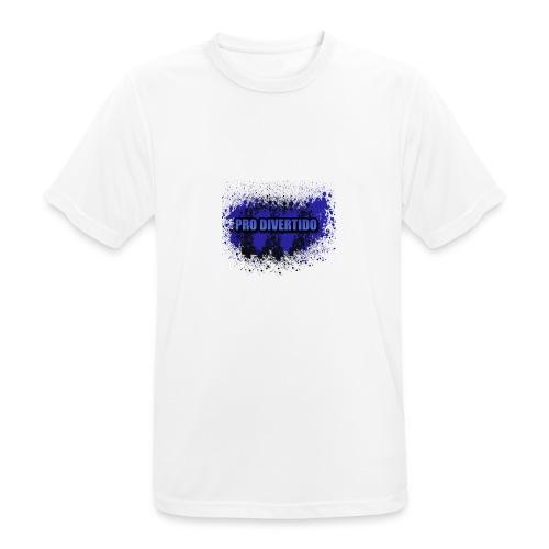 Pro Divertido logo mixto - Camiseta hombre transpirable