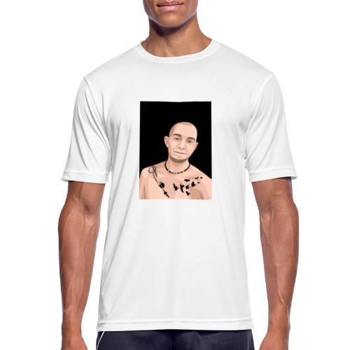 Justin Ahlberg Art - Andningsaktiv T-shirt herr