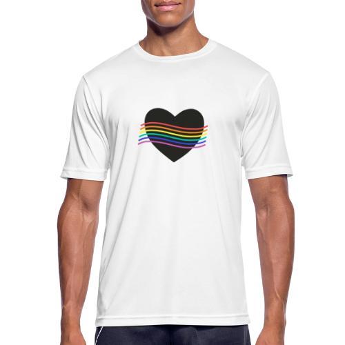 PROUD HEART - Männer T-Shirt atmungsaktiv