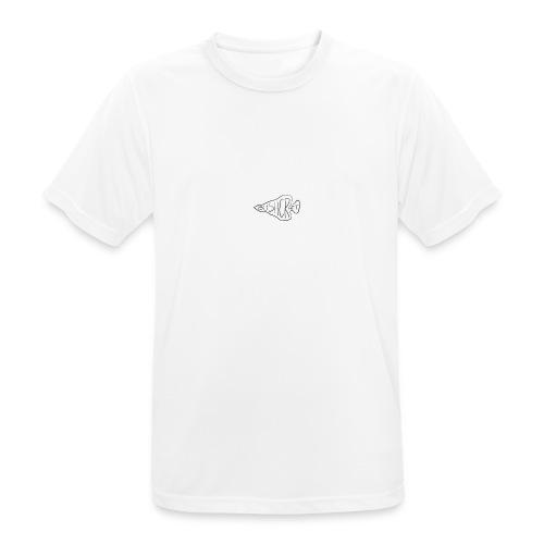 bushcraft logo - Maglietta da uomo traspirante