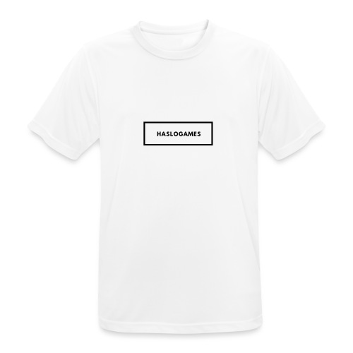 HasloGames White/Black edition! - mannen T-shirt ademend