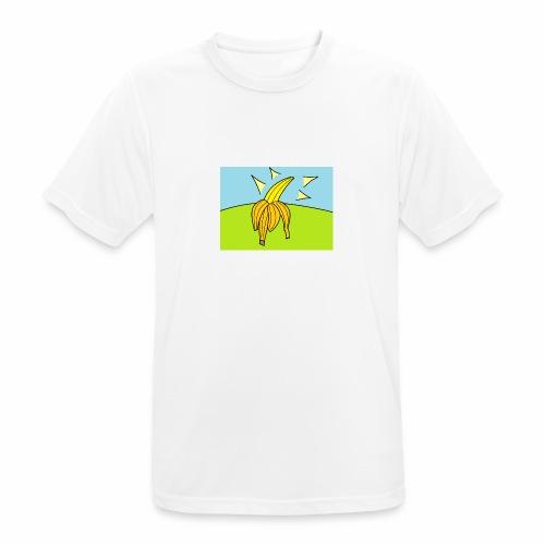 BanniBanaani - miesten tekninen t-paita