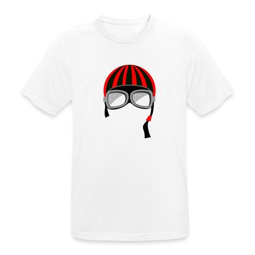 red_helmet-png - Maglietta da uomo traspirante