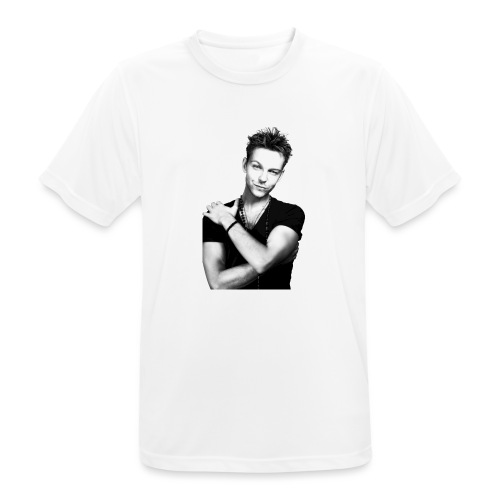 handsome guy - Men's Breathable T-Shirt