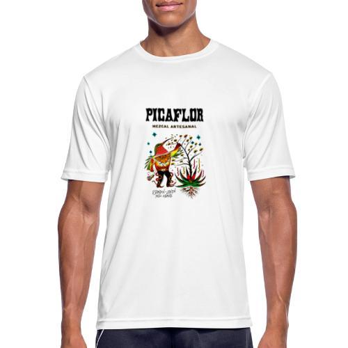 picaflormezcal - Pustende T-skjorte for menn