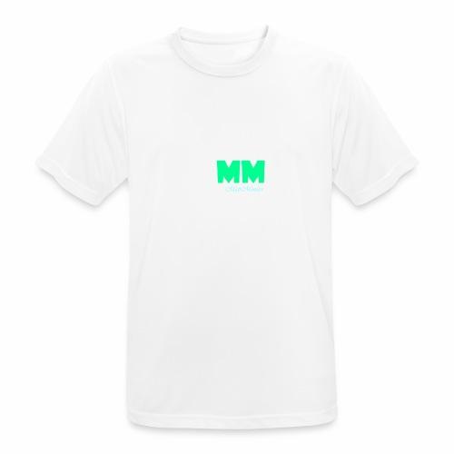MattMonster Signature logo - Men's Breathable T-Shirt