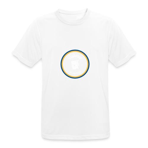 Valbonne la capitale - Le classique Blanc - T-shirt respirant Homme
