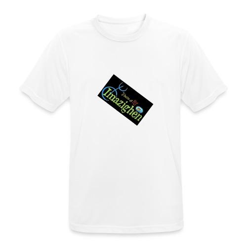 Imazighen ithran rif - Mannen T-shirt ademend actief