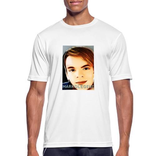 Markolegenden TikTok - Herre T-shirt svedtransporterende