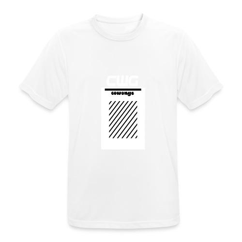 Cowonge - Frauen - Männer T-Shirt atmungsaktiv