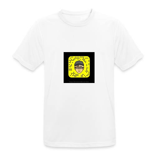 Mr.Lightning Snapcode - Männer T-Shirt atmungsaktiv