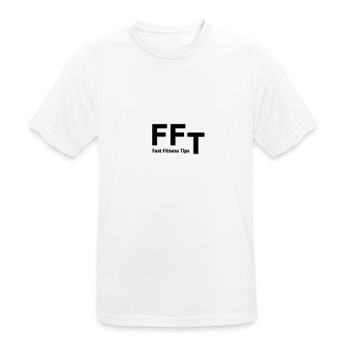 FFT simple logo letters - Men's Breathable T-Shirt