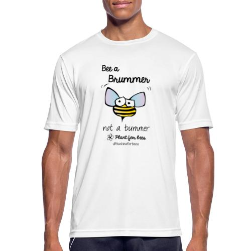 Bees6-1 Save the bees - Men's Breathable T-Shirt