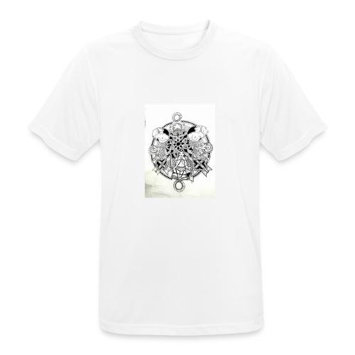 guerriere celtique entrelacs bretagne femme - T-shirt respirant Homme