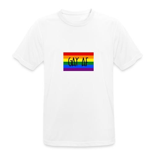 gay af - Männer T-Shirt atmungsaktiv