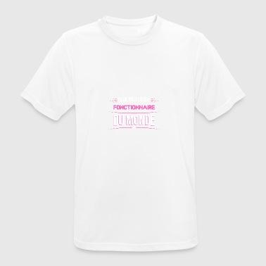 Fonctionnaire t shirt drole pour Fonctionnaire - T-shirt respirant Homme