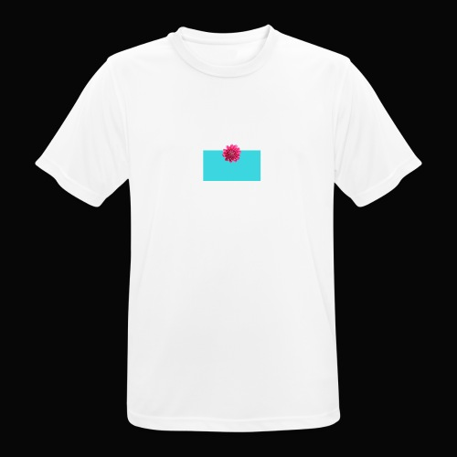 flower - Pustende T-skjorte for menn