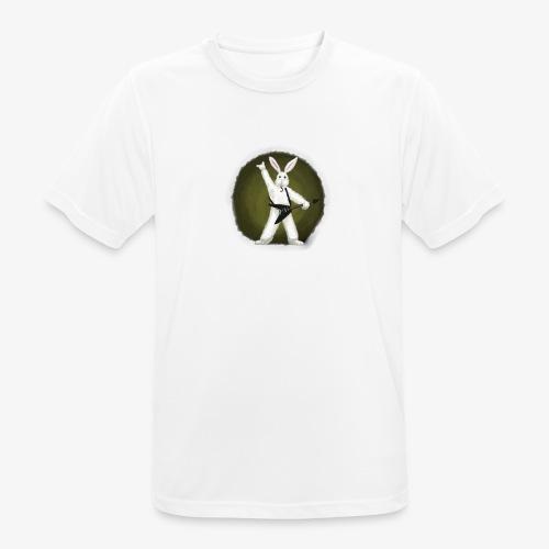 Metal Bunny - Pustende T-skjorte for menn