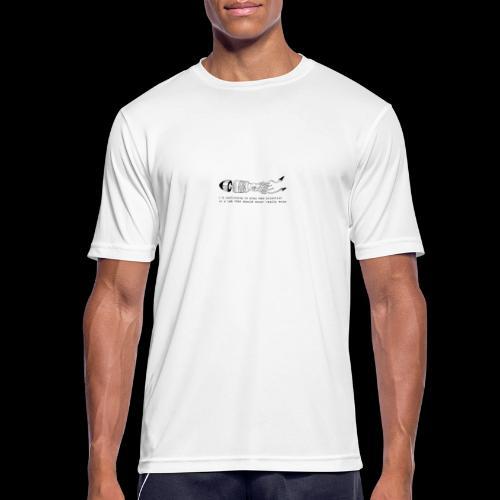 hybrid 0001 - Maglietta da uomo traspirante