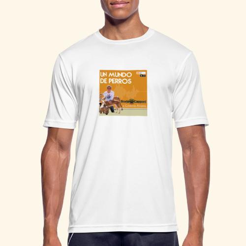 Un mundo de perros 1 03 - Camiseta hombre transpirable