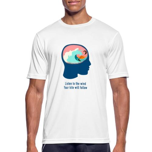 Listen to the wind 2 - Men's Breathable T-Shirt