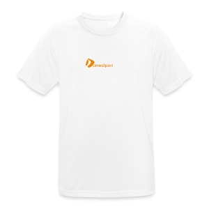 Logo DomesSport Orange noBg - Männer T-Shirt atmungsaktiv