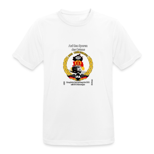 DDR Umrundung - Männer T-Shirt atmungsaktiv