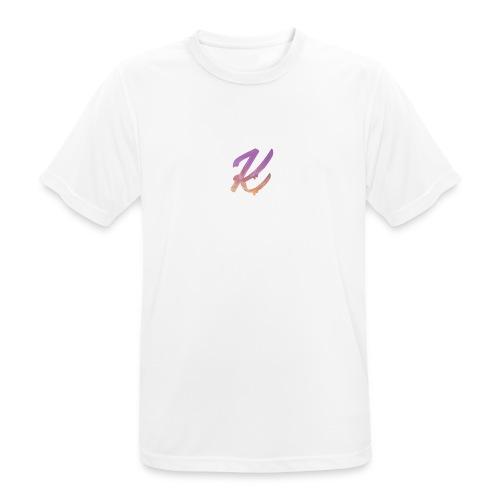 K Logo - Men's Breathable T-Shirt