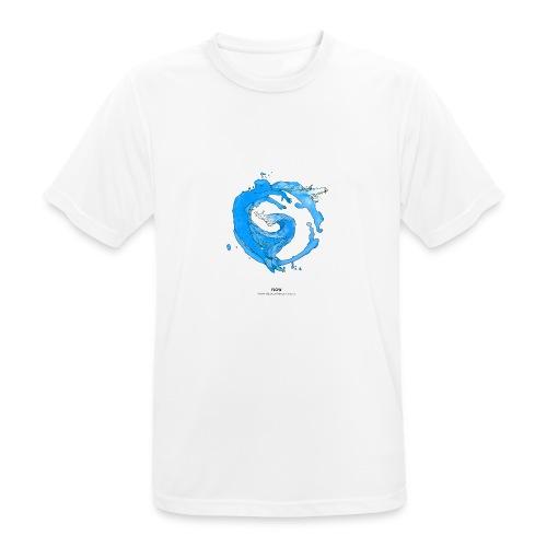 FLOW - mannen T-shirt ademend