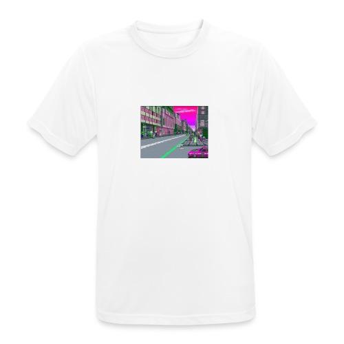 Game City 80's - Maglietta da uomo traspirante