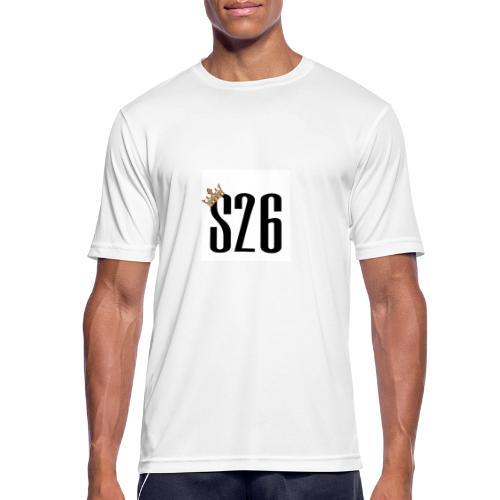 S26shop.de - Männer T-Shirt atmungsaktiv