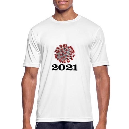 Virus 2021 - Männer T-Shirt atmungsaktiv