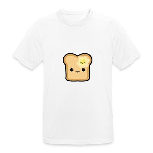 Toast logo - Männer T-Shirt atmungsaktiv