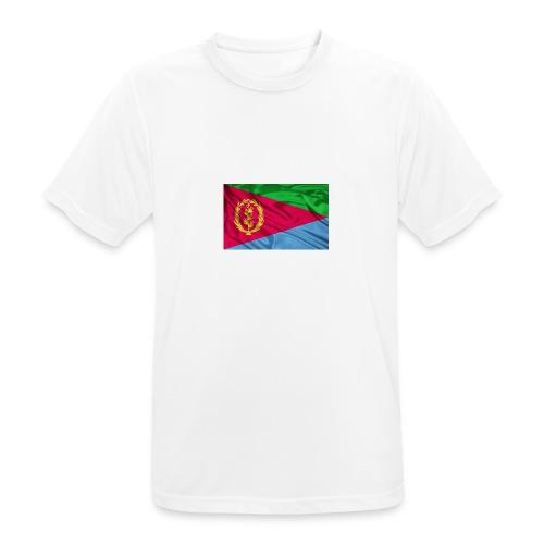 Eritrea Flag - Männer T-Shirt atmungsaktiv
