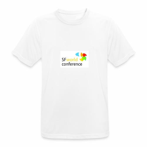 SFworldconference T-Shirts - Männer T-Shirt atmungsaktiv