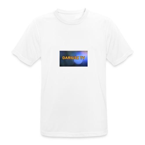 DARIUSZ TV - Koszulka męska oddychająca