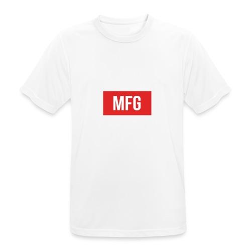 MFG on Youtube Logo - Men's Breathable T-Shirt