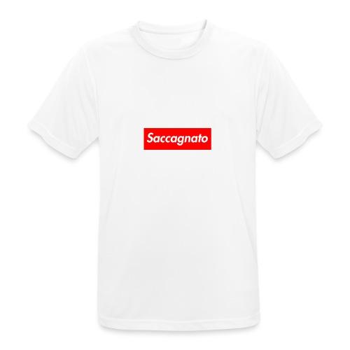 Saccagnato - Maglietta da uomo traspirante
