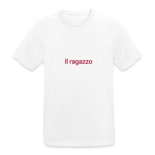Il ragazzo - Camiseta hombre transpirable